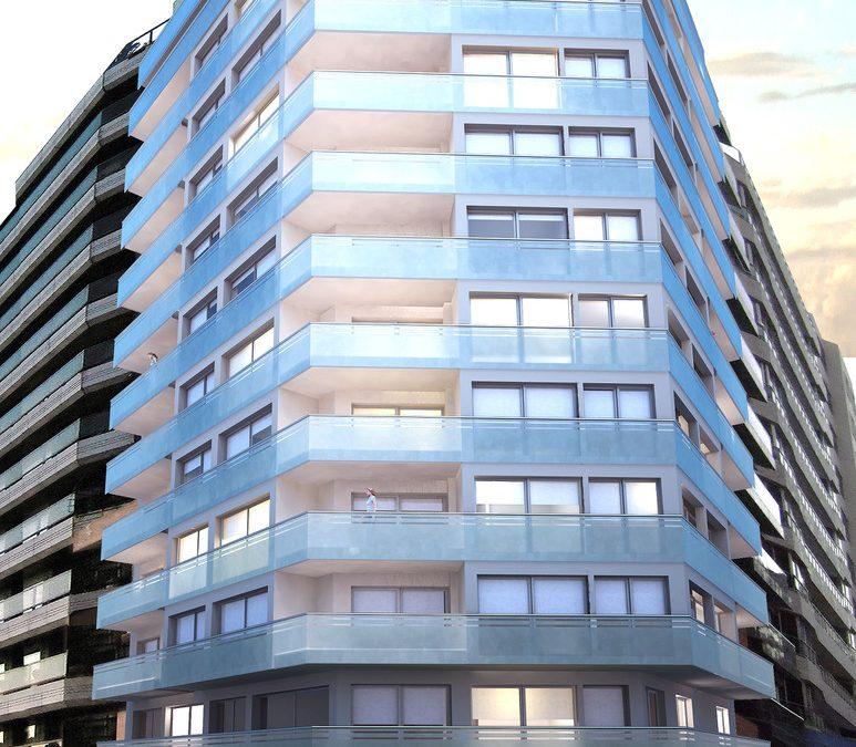 El Edificio Marina Infinita incorpora Durasein en sus baños y cocinas