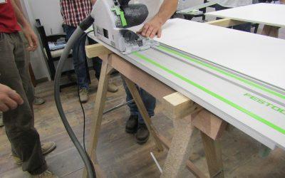 Curso de procesamiento para carpinterías y talleres