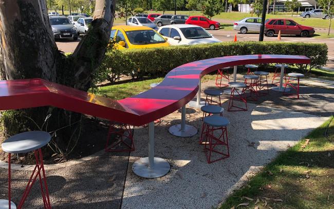 Zonamerica innova en moblario urbano