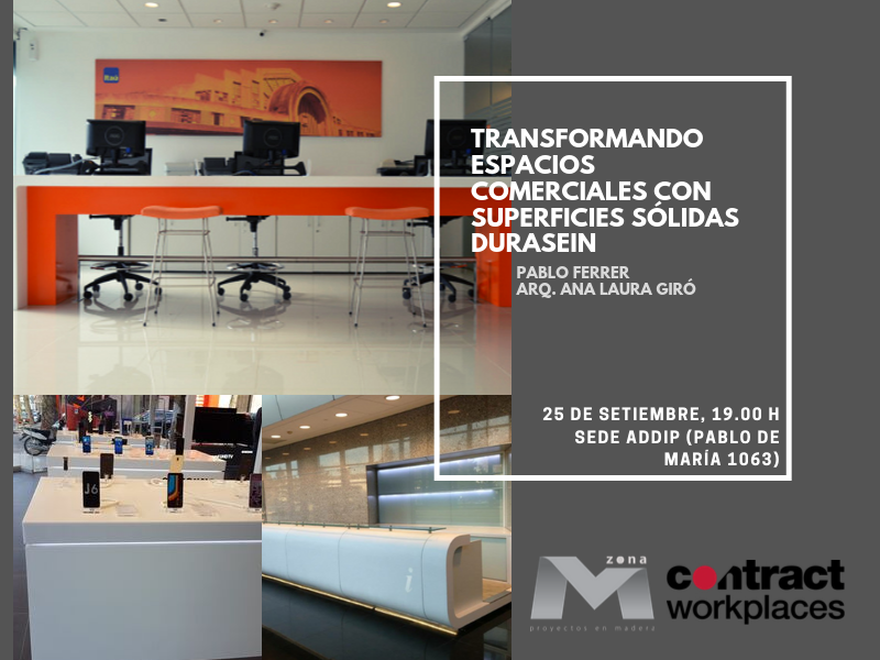 Presentamos Durasein en ADDIP junto a Contract Workplaces