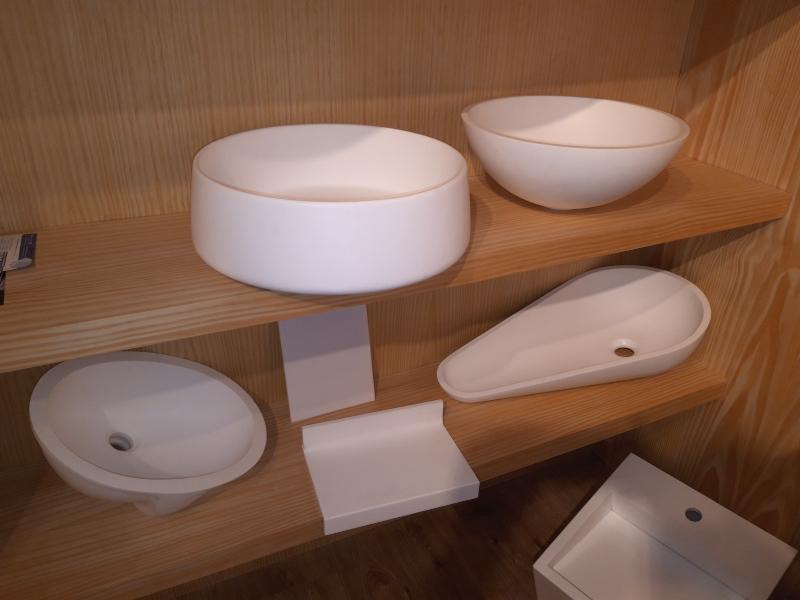 Distintos modelos de bachas para baño en Durasein