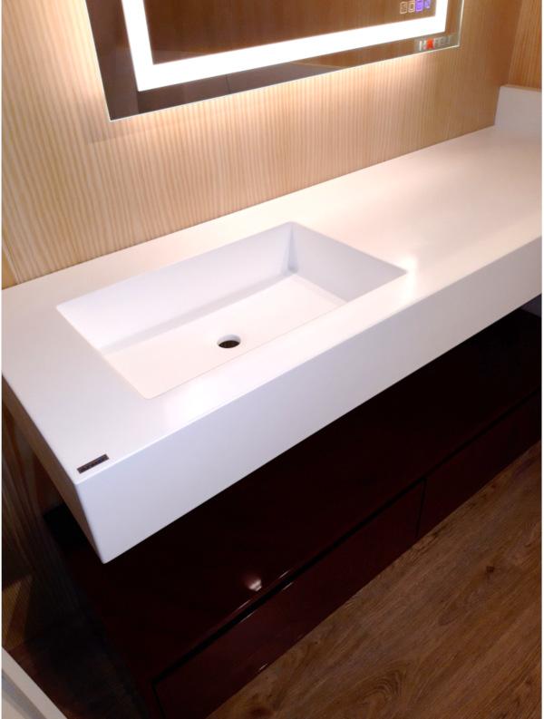 Mesada de baño de Zona M