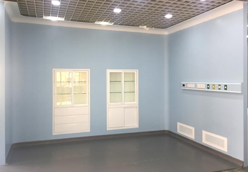Sala blanca revestida en Durasein