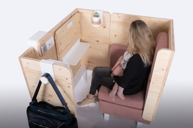 má, un mueble muy original para salas de lactancia