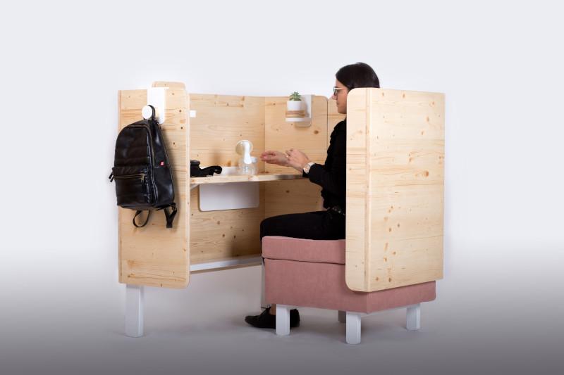 má ofrece comodidad y espacio al utilizarlo con una ordeñadora manual