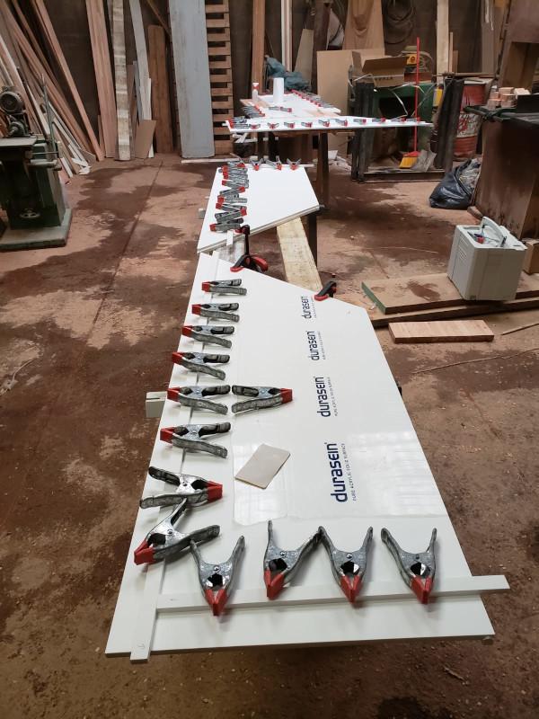 Construcción de las mesadas en Durasein